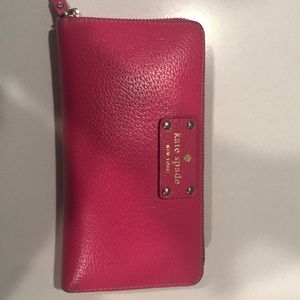 Authentic Kate Spade Large Zippered Wallet